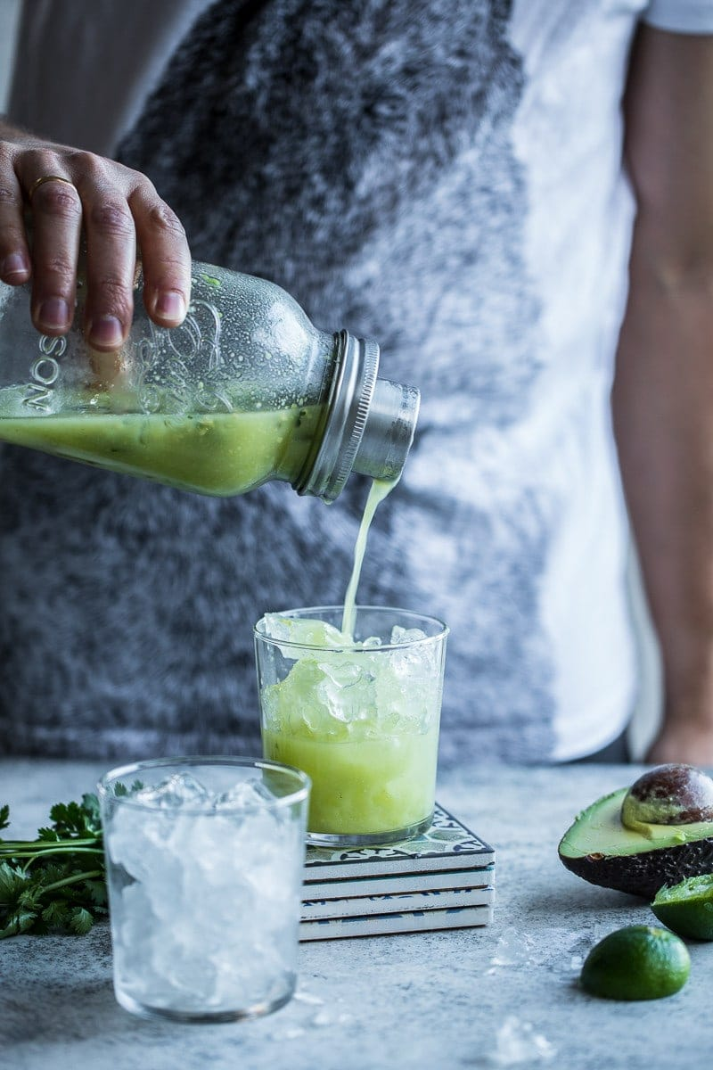 Avocado And Lime Margarita - Cook Republic