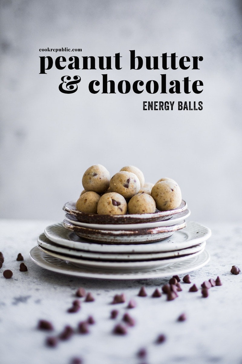 5 Minute Peanut Butter And Chocolate Energy Balls - Cook Republic