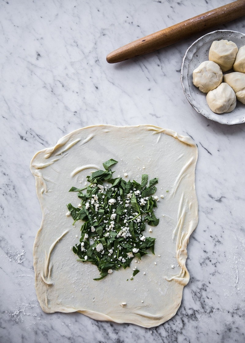 Spinach And Feta Gozleme - Cook Republic