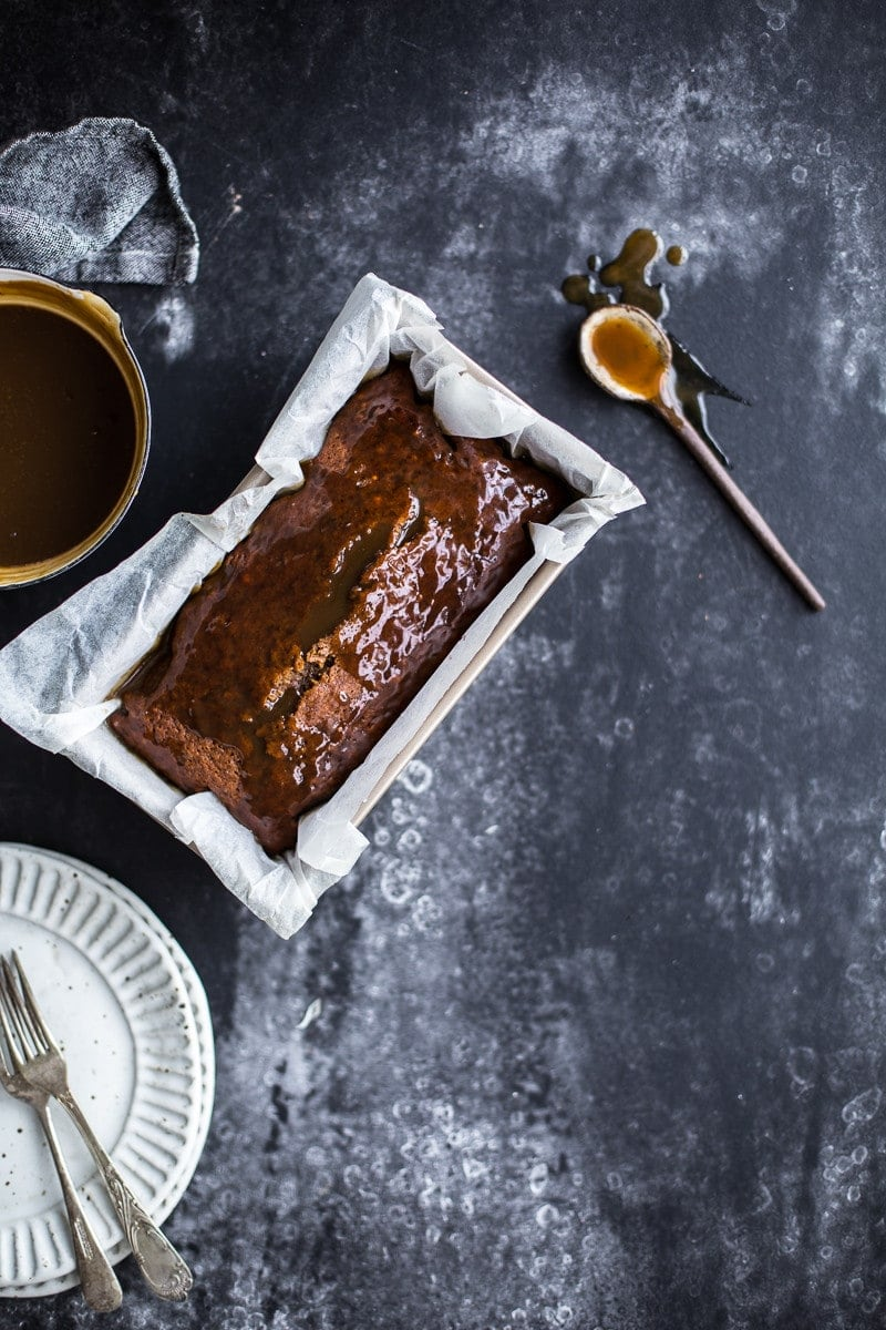 Better-For-You Sticky Date Pudding With Toffee Sauce - Cook Republic